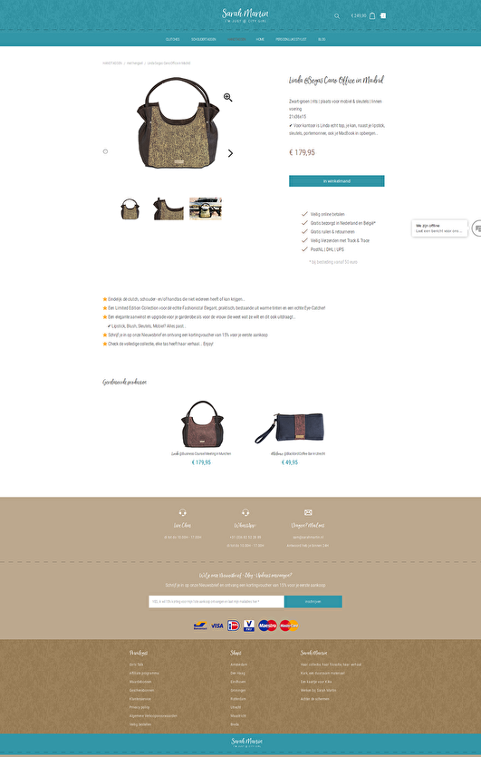 sarahmartin.nl / retail